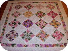 ProsperityStuff Mini Kaleidoscope Quilt Top