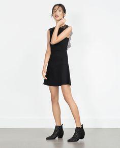 LACE BACK DRESS (black sleeveless 5646/005) $69.90 | Zara