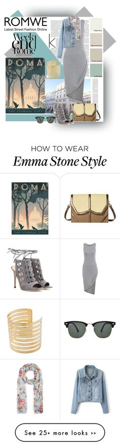 """""""Weekend in Rome!! Romwe"""" by leonis-moda on Polyvore"""