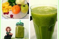 Zelené smoothie probuzení Cantaloupe, Cucumber, Smoothies, Juice, Paleo, Weight Loss, Fruit, Ethnic Recipes, Health