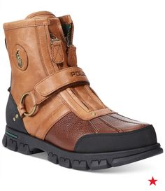 These Polo Ralph Lauren Duck Boots are rough on the outside, soft on the inside…just like the Mr. Tough Guy in your life.