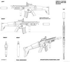 27 best gun blueprints images on pinterest weapons guns firearms scar h malvernweather Gallery