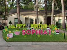 Memorial Yard Greetings Greeting Rentals We Provide Fun For Special Occasions Happy Birthday Signs10th