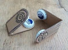 Handicrafts for children 23 fun DIY projects for this summer - DIY tools . - Handicrafts for children 23 fun DIY projects for this summer – DIY instruments Tinker chestnuts c - Kids Crafts, Easy Diy Crafts, Arts And Crafts, Fun Diy, Recycled Crafts Kids, Rock Crafts, Toddler Crafts, Paper Crafts, Cool Diy Projects