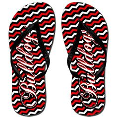 Chevron Bulldog Katydid Flip Flop *** Want additional info? Click on the image.