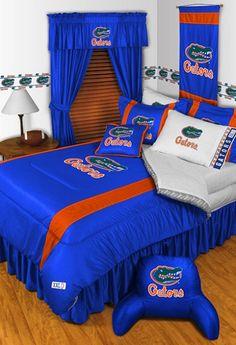 Florida Gators Sidelines Bedding Collection