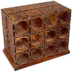 wooden wine rack manufacturer exporter wholesaler india