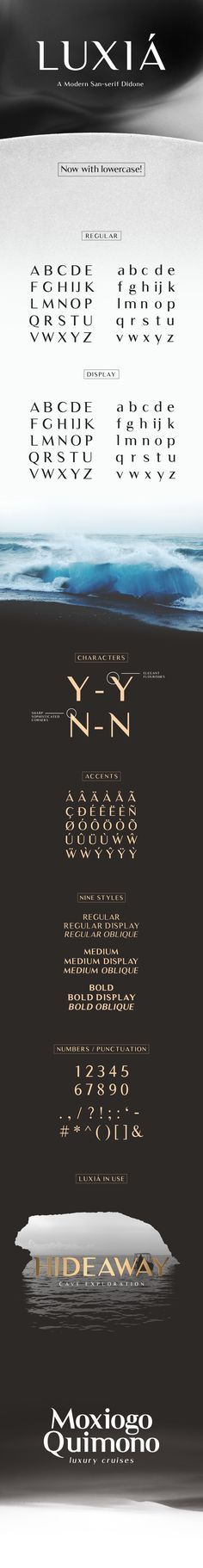 Luxia - Free Typeface on Behance