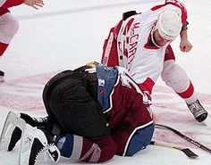 darren mccarty with the beatin'
