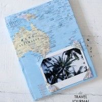 DIY travel journal to record your experiences.