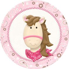 """Photo from album """"NitWit Lil Wimmin"""" on Yandex. Cowgirl Birthday, Cowgirl Party, Barnyard Party, Farm Party, Clip Art Pictures, Cowgirl And Horse, Cute Clipart, Baby Wall Art, Scrapbook Embellishments"""