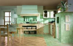 Oryginalna kuchnia w rustykalnym klimacie. Paradyż, płytki, inspiracja, wystrój wnętrz http://www.paradyz.com/plytki/kuchenne/tretto-tryton https://www.facebook.com/CeramikaParadyz