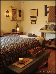 love this room...primitive