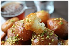 Lokma   Sweet Fritters covered in Syrup