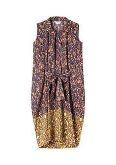Women's GABRIELA TIE FRONT DRESS