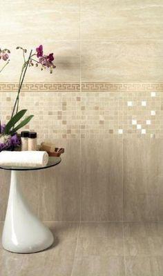 Beige Bathroom, Modern Bathroom Decor, Bathroom Design Small, Bathroom Interior, Bedroom Bed Design, Home Room Design, Interior Design Living Room, Bathroom With Makeup Vanity, Bathroom Styling