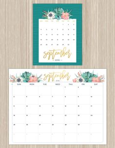 FTD recently reached out to us about their printable calendars, and we were surprised to learn that they not only have printables, but a blog too!