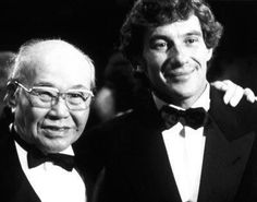 Soichiro Honda (fundador da Honda) e Ayrton Senna