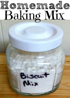 Homemade Baking Mix We love this recipe! I used many different versions of this recipe before deciding that this version is the best! You will pay a fraction of the price as other biscuit mixes a...