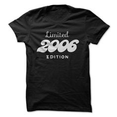 2006 Limited Edition B-day 10th Birthday T-Shirt Tee by TeeSpaceX