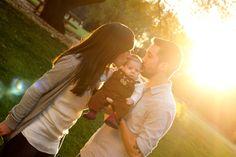Sweet family photo with baby  Sara Faith Photography