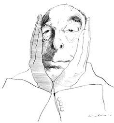 pablo neruda   Pablo Neruda por David Levine