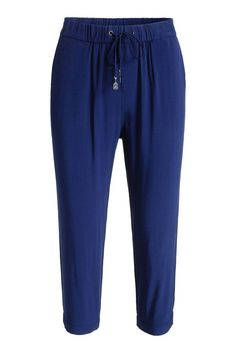 Esprit Damen Capri Hose blau Neu Gr.40