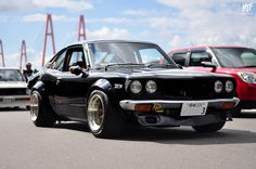Mazda RX3 Mazdas hate me but I'd risk owning this, its fairly bad ass looking