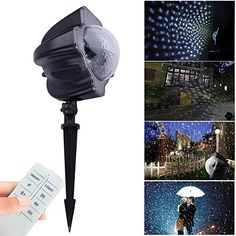 Faithful 12 Christmas Patterns Cards 48 Holiday Pattern Snowflakess Projector Lights Garden Decorative Lamp Lighting Waterproof Sparkling Without Return Access Control Kits Security & Protection