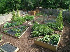 DIY vegetable, herb and flower garden design ideas in 76 amazing images Flower Garden Design, Vegetable Garden Design, Planting Vegetables, Growing Vegetables, Permaculture, Amazing Gardens, Beautiful Gardens, Design Jardin, Gardening For Beginners