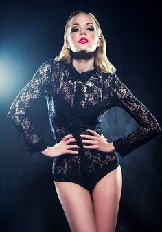 Nikoleta D. Gorgeous Lingerie, Elegant Woman, Bodysuits, How To Make, Black, Women, Fashion, Moda, Black People