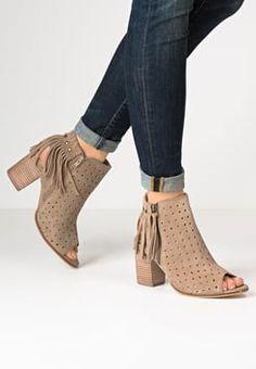 Tamaris - High Heel Sandaletten - camel