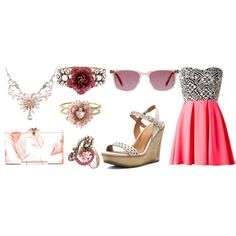 My Items Coral by Rapha on Polyvore, made entirely out of My IItems