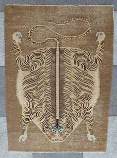 Image result for antique tibetan tiger rug