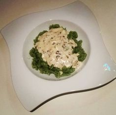Špenátové halušky so syrovou omáčkou Risotto, Ethnic Recipes, Food, Essen, Meals, Yemek, Eten
