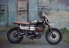 Triumph Scrambler - BAAK Motocyclettes #motorcycles #scrambler #motos | caferacerpasion.com