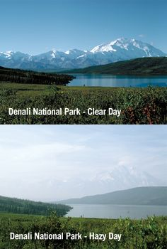 What could make America's tallest mountain disappear? Air pollution. See the effects on Denali and you'll understand why we need strong soot standards to clear away the haze in our national parks. Here's the link to take action: http://ejus.tc/LDj7Ms