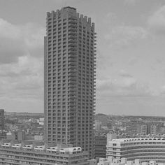 Happy #LondonHistoryDay! HM The Queen described the Barbican at its opening as 'one of the wonders of the modern world'. Do you know how much concrete was used to build the Barbican?   Visit barbican.org.uk/buildingthebrutal to discover more photos from when we were built. Photo by Peter Bloomfield.