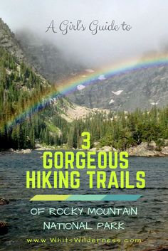 The complete guide to Rocky Mountain National Park: best and most scenic trails, what to wear hiking, town highlights, the best lodging, and more. Colorado National Parks, Rocky Mountain National Park, National Forest, Visit Colorado, Colorado Hiking, Denver Hiking, Estes Park Colorado, Camping And Hiking, Hiking Trails
