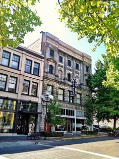 Historic 1906 Pythian Temple building, downtown Tacoma, WA
