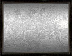 London Map Mirror (1216)