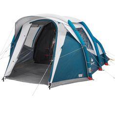 2e86a4ae7 Quechua air seconds 4.1 xl fresh   black family camping tent
