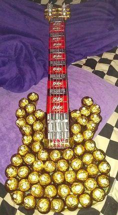 Guitarra de Ferrero Rocher
