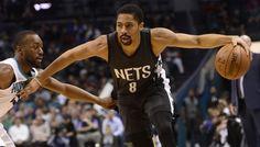 Brooklyn : Spencer Dinwiddie prêt à se mesurer à Stephen Curry -  D'Angelo Russell a rejoint Jeremy Lin à l'infirmerie, et les Nets ont confié les rênes de l'équipe à Spencer Dinwiddie. Passé par Detroit, puis transféré à Chicago, qui l'avait ensuite… Lire la suite»  http://www.basketusa.com/wp-content/uploads/2017/11/dinwiddie-walker-570x325.jpg - Par http://www.78682ho