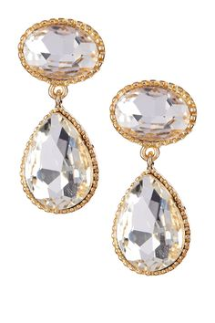Blair Crystal Earrings by Bansri on @HauteLook