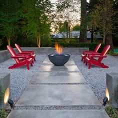 Modern Concrete Driveways Design Ideas, Pictures, Remodel, and Decor - page 12