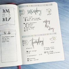 Instagram media rozplans - Back to this layout, because I wanted some freedom to doodle.  #bulletjournal #planner #plannercommunity #bujo #bulletjournaling #bulletjournaljunkies #bulletjournalcommunity #leuchtturm1917