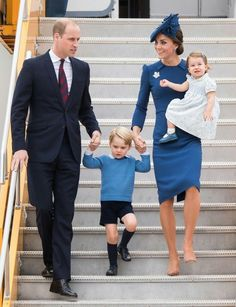 Royal Family arrive in Canada