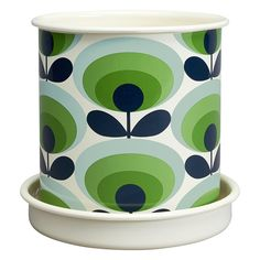 Orla Kiely Large 70's Flower Oval Apple Design Plant Pot - Multi-Coloured >>> You can get additional details at the image link. (This is an affiliate link) #Gardening