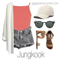 """Local Concert Date // Jungkook"" by suga-infires ❤ liked on Polyvore featuring Topshop, Steve Madden, Ray-Ban and Madewell"